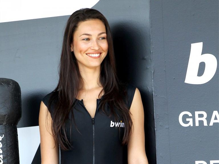 Paddock Girl at the Gran Premio bwin.com de España