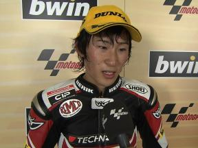 Tomizawa on top form after second podium