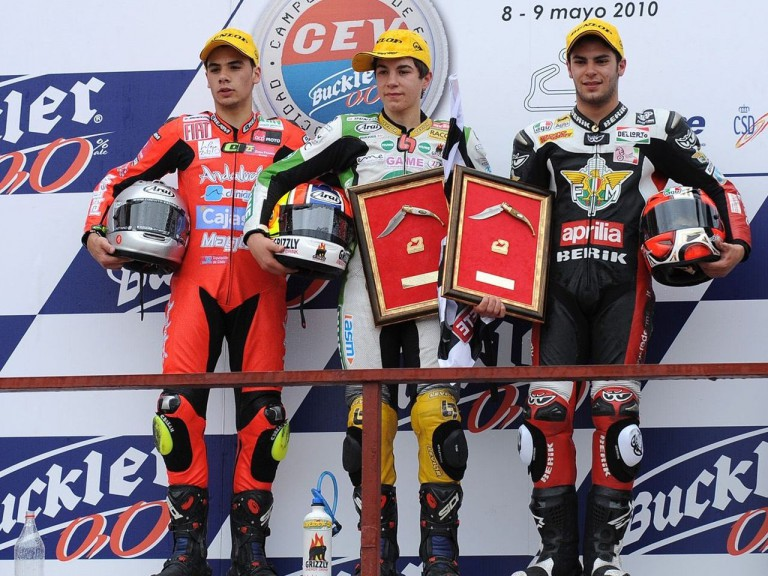 125GP Podium in Albacete Circuit