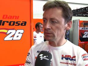 Pedrosa mechanic Mike Leitner assesses progress