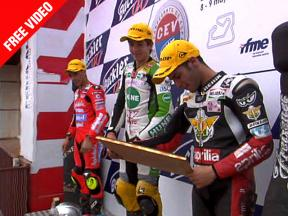 2010 - CEV Buckler - Round 2 - Albacete Highlights 125cc