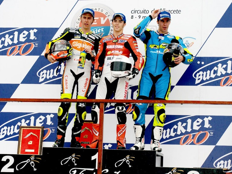 Moto2 Podium at CEV Buckler in Albacete