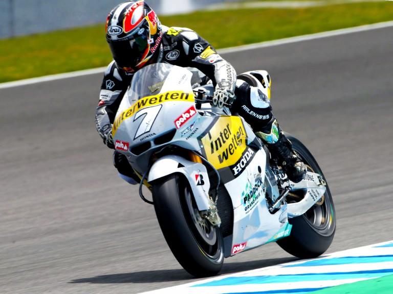 Interwetten Honda MotoGP Team rider Hiroshi Aoyama