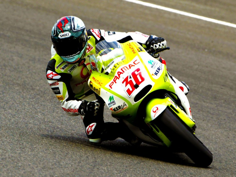 Mika Kallio of the Pramac Racing team
