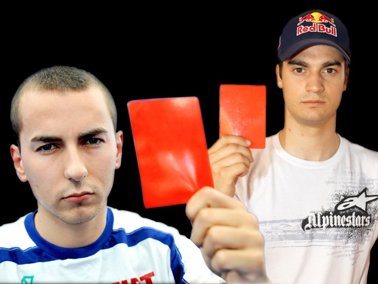 Lorenzo and Pedrosa unite to help campaign against domestic violence