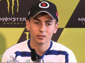 Le Mans - 2010 - Pre-event - MotoGP - Press Conference -  Interview - Jorge Lorenzo