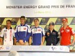 MotoGP riders at the Monster Energy G.P. de France press conference
