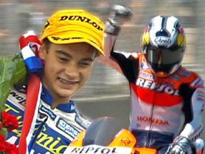 MotoGP rider Dani Pedrosa