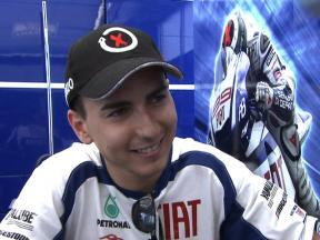 Good feeling on M1 for Lorenzo