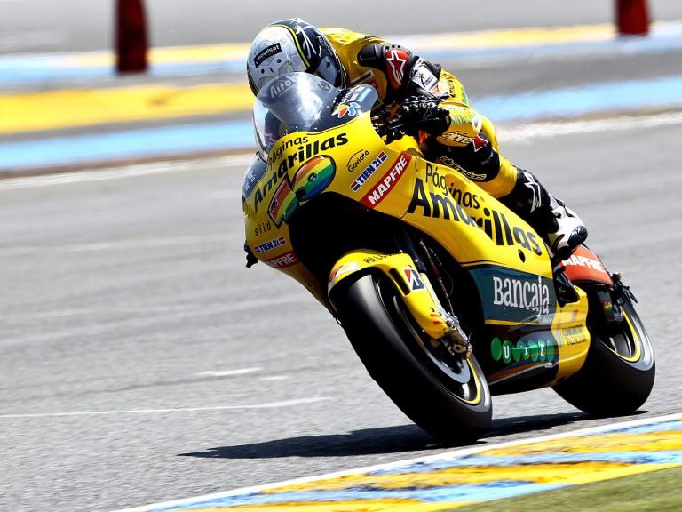 Héctor Barberá in action in Le Mans