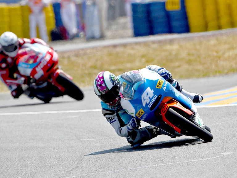 Pol Espargaró in action in Le Mans