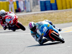 Pol Espargaró in action in Le Mans