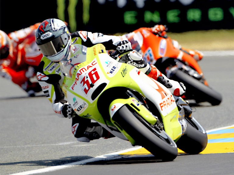 Mika Kallio in action in Le Mans