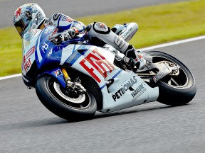 Jorge Lorenzo on track at Motegi