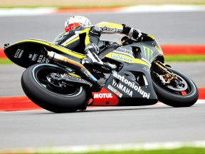 Ben Spies in action in Silverstone