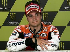 Le Mans 2010 MotoGP QP Interview Dani Pedrosa
