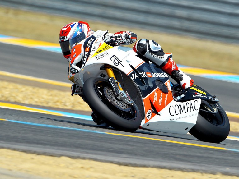 Kenny Noyes in action in Le Mans