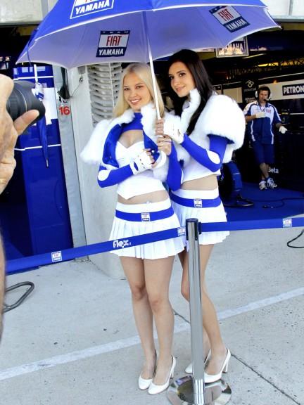 Paddock Girl at the Monster Energy grand Prix de France