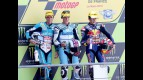 Terol, Espargaró and Marquez on the podium in Le Mans