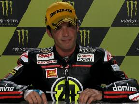 Le Mans 2010 Moto2 Race Interview Toni Elias