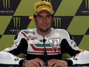 Le Mans 2010 Moto2 Race Interview Simone Corsi