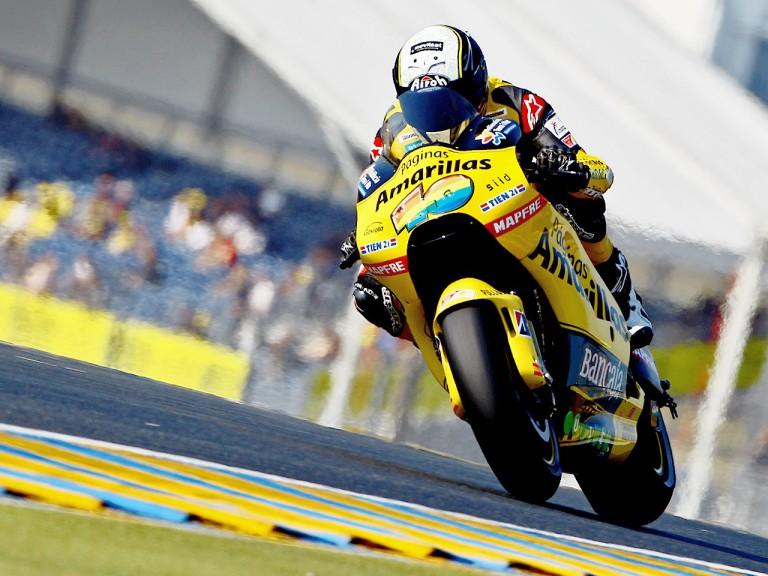 Héctor Baberá in action in Le Mans
