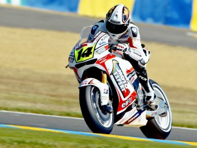 Randy de Puniet in action in Le Mans