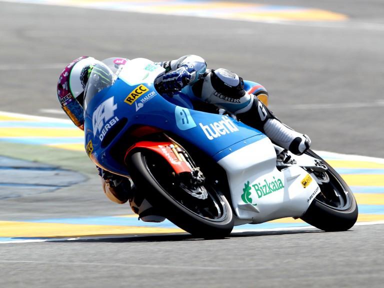 Pol Espargaró in actionin Le Mans