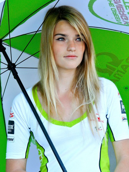 Paddock Girl at the Monster Energy grand Prix de France