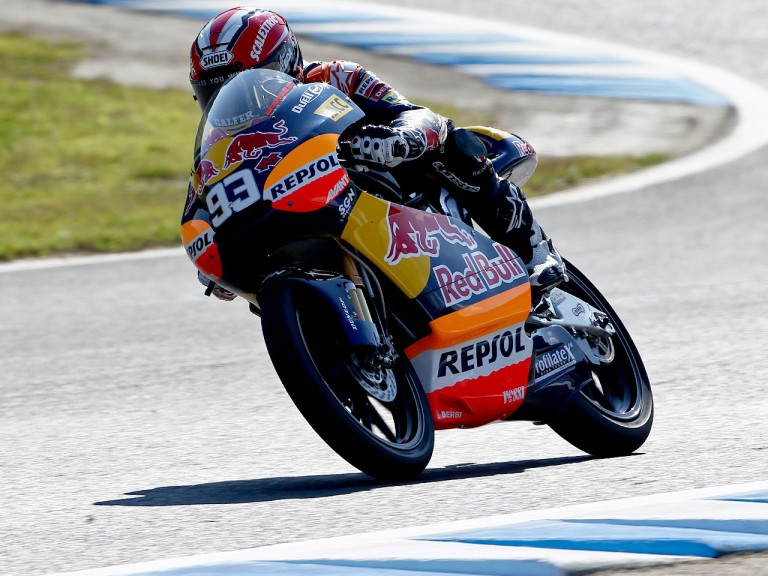 Marc Márquez in action