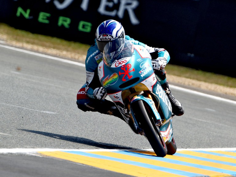 Nico Terol on track in Le Mans
