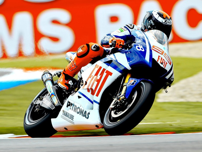 Jorge Lorenzo on track at Assen