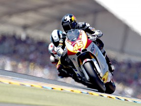 Scott Redding in action in Le Mans