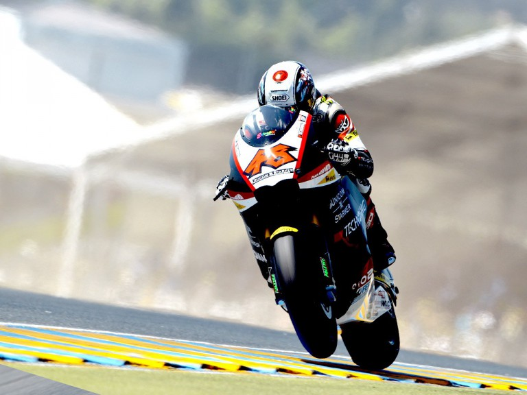 Shoya Tomizawa in action in Le Mans