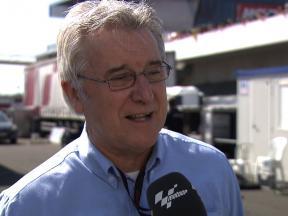 France - 2010 - MotoGP - interview - Speakers' Corner