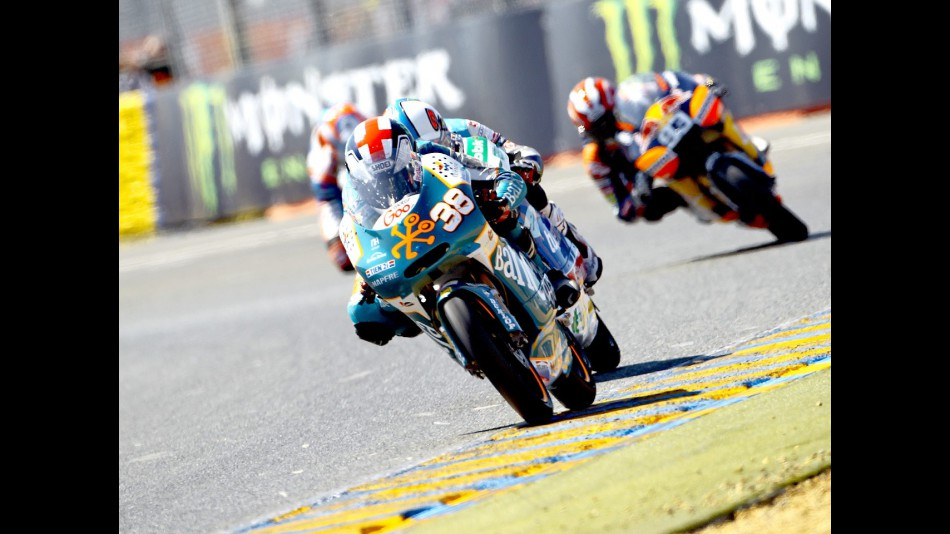Bradley Smith in action in Le Mans