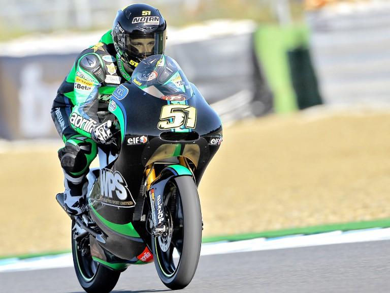 Riccardo Moretti on track