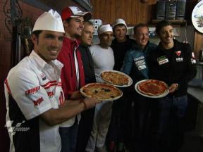 Championship stars attempt to make the perfect Italian pizza