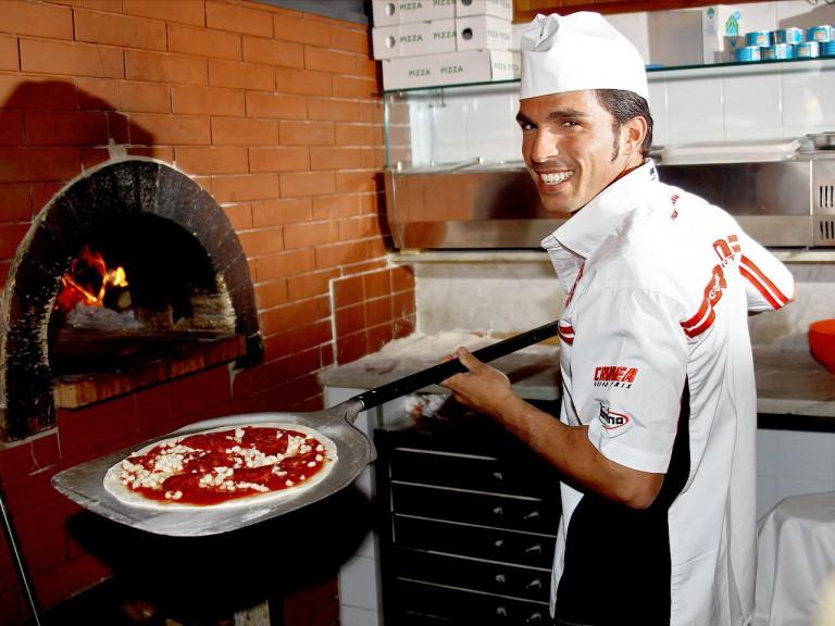Toni Elias at the preevent in Mugello