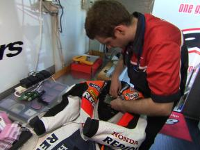 Alpinestars explain their MotoGP safety gear