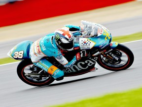 Bradley Smith in action in Silverstone
