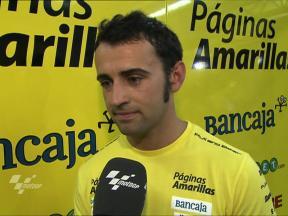Barbera improving feeling with Ducati