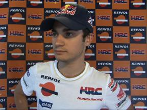 Pedrosa uses FP1 to try different options