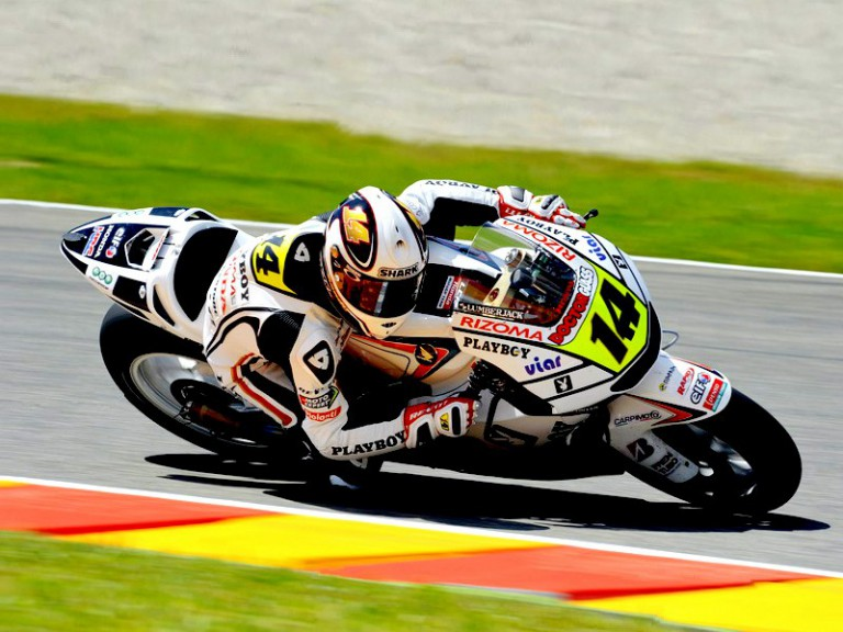 Randy de Puniet in action in Mugello