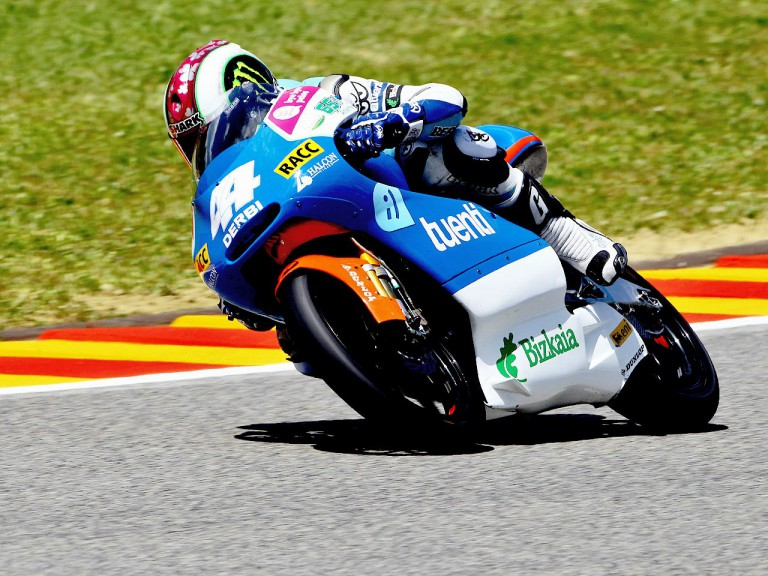 Pol Espargaró in action in Mugello