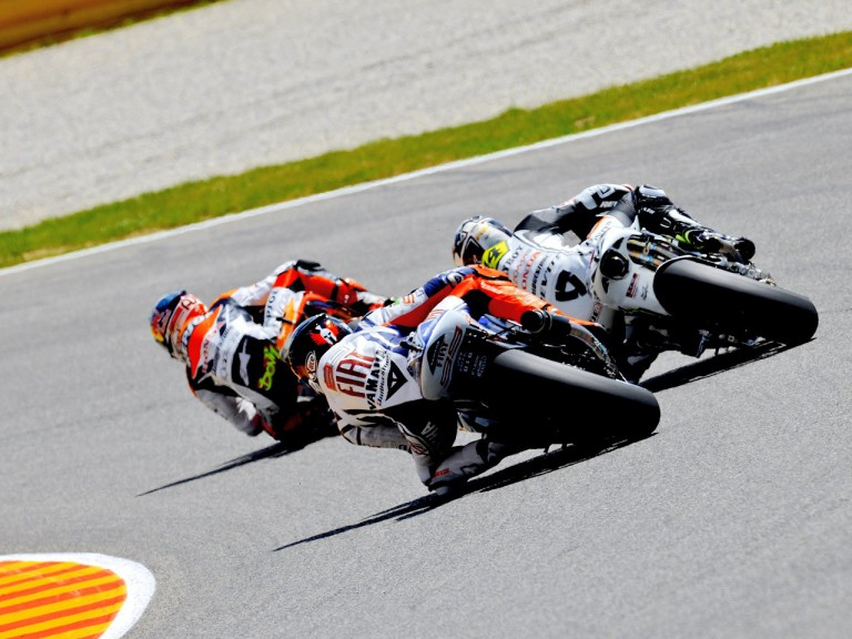 MotoGP action in Mugello