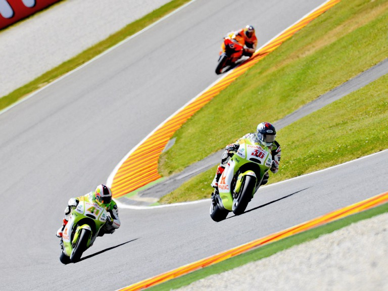 Kallio and Espargaró in action in Mugello