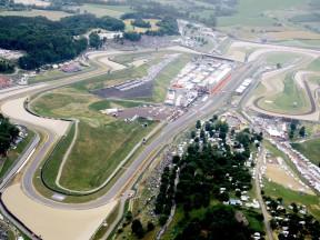 Aerial view of Mugello circuit