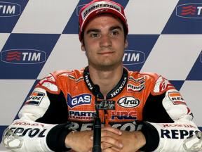 Mugello 2010 MotoGP QP Interview Dani Pedrosa