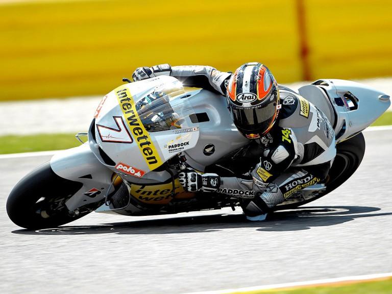 Hiroshi Aoyama on track in Mugello